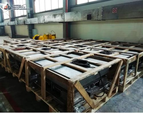 Platform scales from stainless steel VP-P 10000 kg (10 tons)