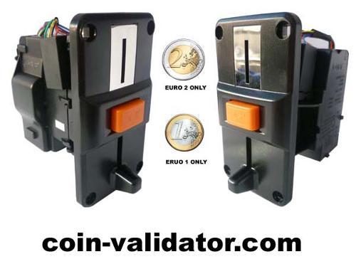 euro monedas validador aceptor selector