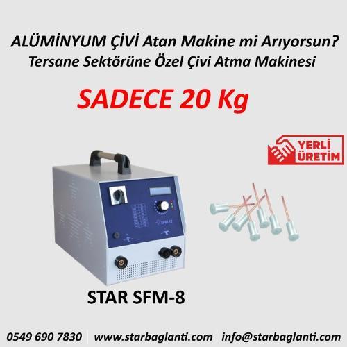 STAR SFM-8 Saplama Kaynak Makinesi