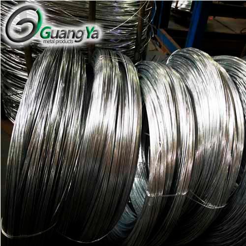 Alambre electro galvanizado de hierro