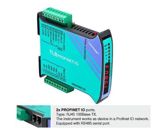 Wägetransmitter TLB ProfiNet IO