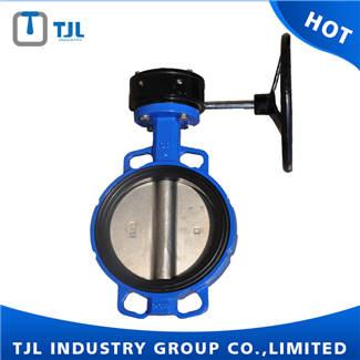 Resilient Seat Butterfly Valve With Worm Gear