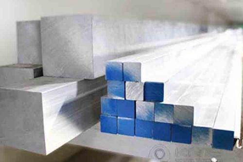 Barras Quadradas de Alumínio