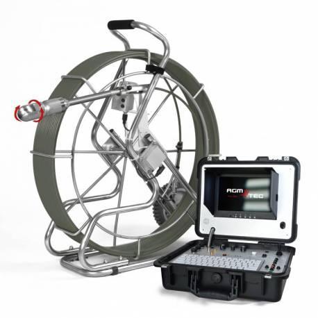 Caméra pour canalisations rotative