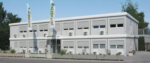 Bürocontainer und Wohncontainer