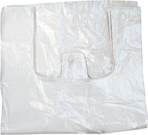 T-Shirt bags without picture/logo (transparent)