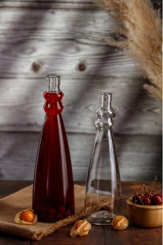 Бутылка стеклянная 500мл и 750мл