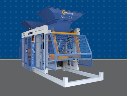 NS-30 / NS-25 CONCRETE BLOCK MACHINE