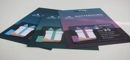 Gift cards / Voucher cards / Coupon card