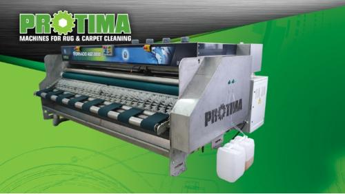 Machine pour laver les tapis TORNADO
