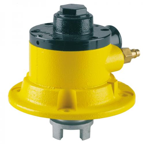 Compressed air motor for eccentric screw pump