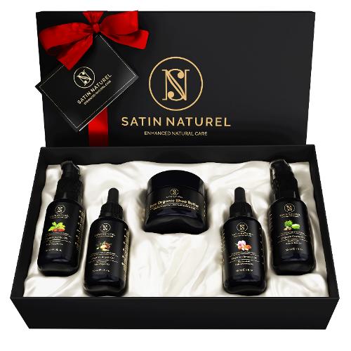 Natural Organic Body Care Set, Gift Set, Vegan 5x30 Ml