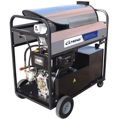 工程机械高压热水清洗机