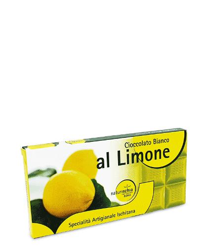 Tavoletta di cioccolato al limone