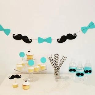 Mr. Moustache thema party