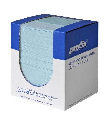 profix escon crêpé wiping cloth dispenser-boxes