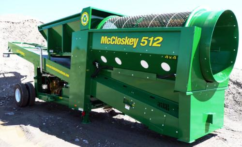 Crible Trommel – MCCLOSKEY 512