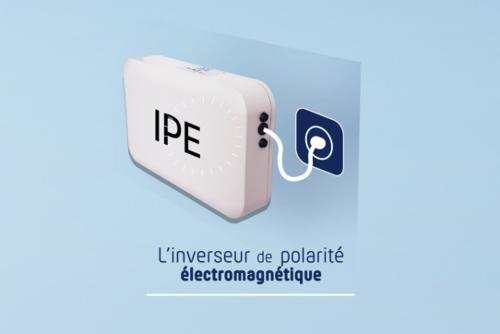 ELEKTROMAGNETISCHE POLARITEITSOMVORMER (I.P.E)