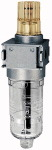 Mist oiler multifix-mini with polycarbonate container, G 1/4