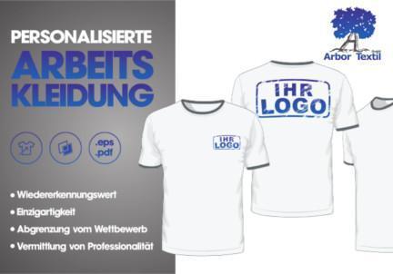 Arbeitskleidung mit Ihrem Logo