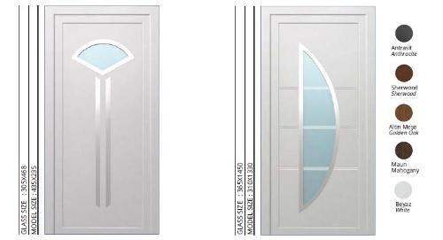 PVC DOORS, LAMINATED