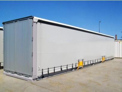 Steel Van / Curtain Side Swap Body