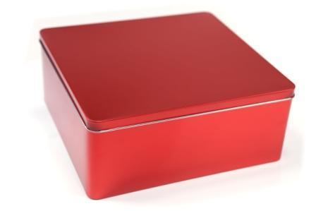 Kilo Tin red
