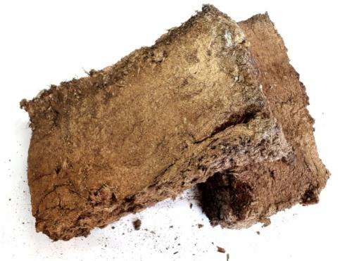 Cut peat