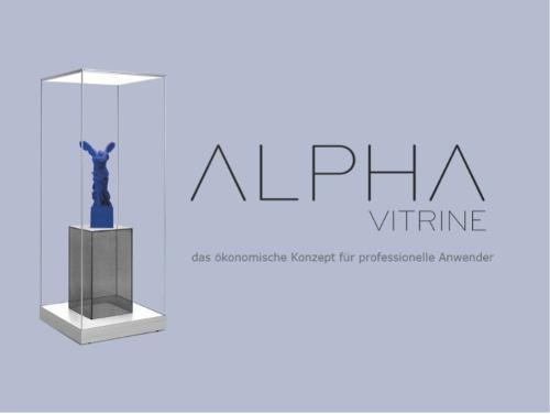 LA VITRINE ALPHA - la nouvelle génération de vitrine