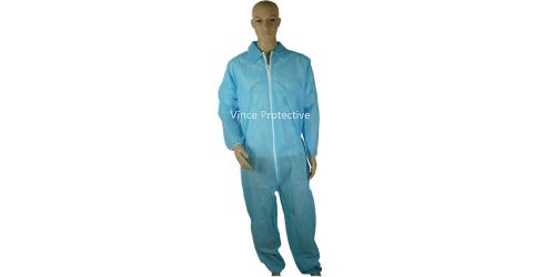 PP Blue Coverall without hood