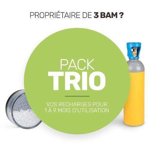 Pack de recharge de consommables pour vos trois BAM