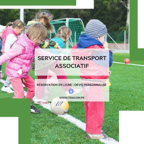 Service de transport associatif avec tracom sas
