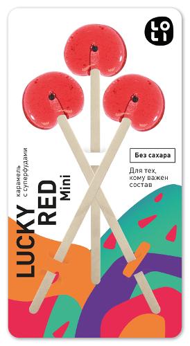 Gourmet Lollipops LO-LI «Lucky Red Mini» sugar free