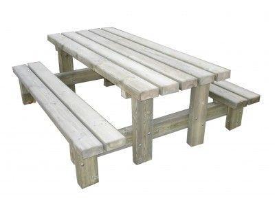 Table Pique Nique Rustique