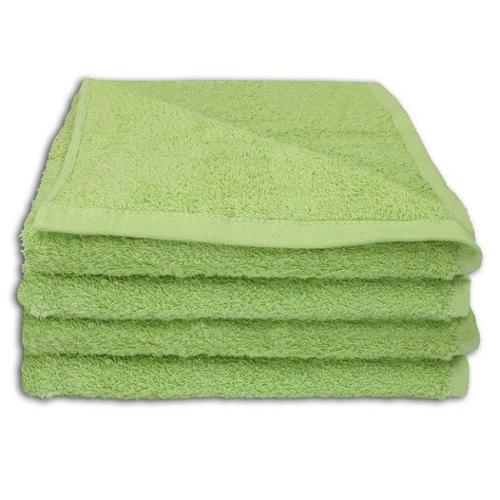 4 Stück Handtuch Set 50x100cm Farbe: Jade