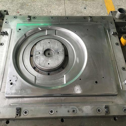Galvanized sheet washing machine front panel mold
