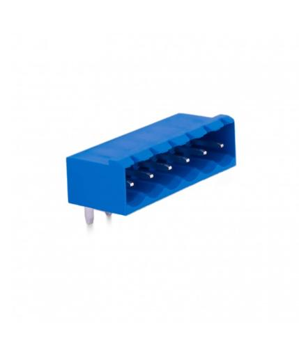 5,08mm Socket Terminal Male 90° With Side Panels - 6 Pins