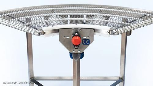 Förderanlage: Flex-Turn® Kurvenförderer