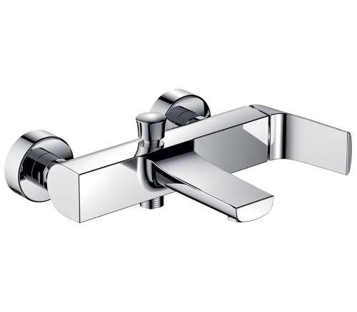 Mitigeur douche/baignoire chromé - carré