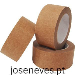 Fitas adesivas de papel ecológicas