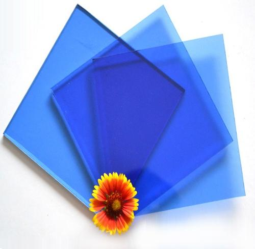 4-12mm Dark Blue Float Glass