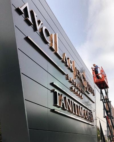 Signage Sign Building Outdoor