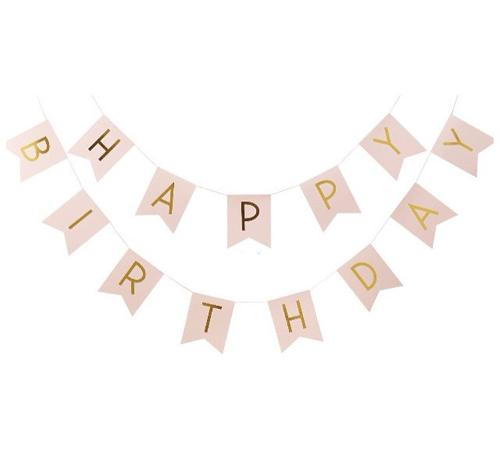 """Letter Slinger """"Happy Birthday"""""""