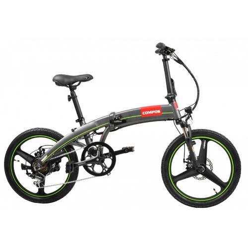 """Velo Electrique 20 """" Bicyclette Pliable A Batterie Hecht"""