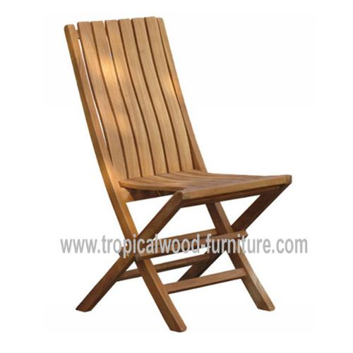 Glory Teak Garden Folding Side Chair