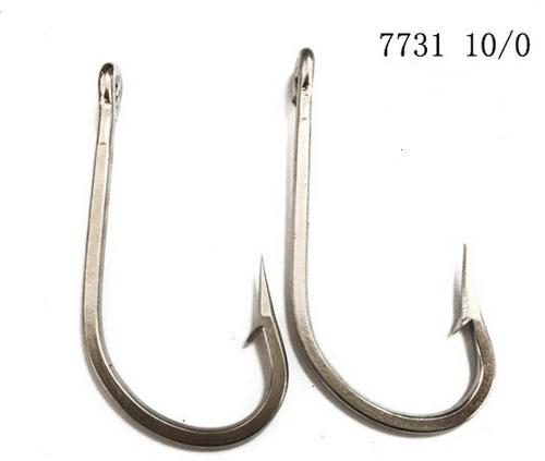 Fishing hook of stainless steel