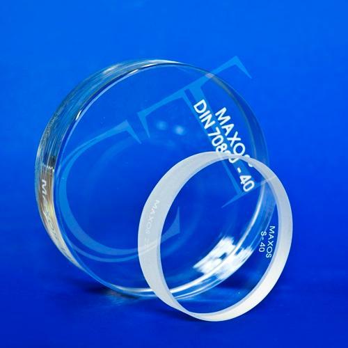 Okrągłe szkło wzierne