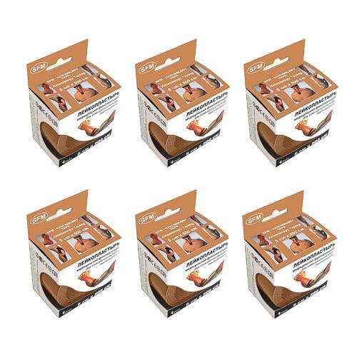 SFM Kinesiologische Tapes in Papierbox 5cmx5m beige (6)