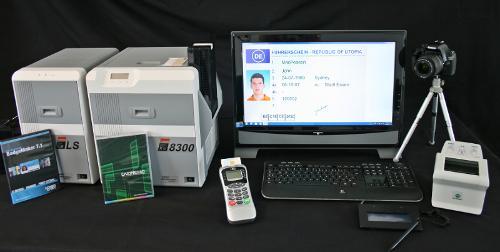 Personsalisierungsanlagen für Ausweis-,Chip-