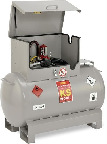 Mobile Kraftstofftankanlage Typ KS-Mobil 300l mit...